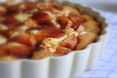 Omenatorttu, gluteeniton.