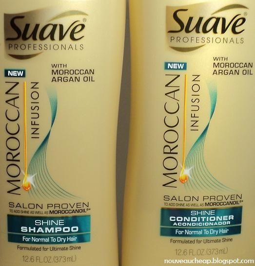 Suave Professionals Moroccan Infusion Shine Shampoo  Conditioner  Suave Professionals Moroccan Infusion Shine Shampoo  Conditioner