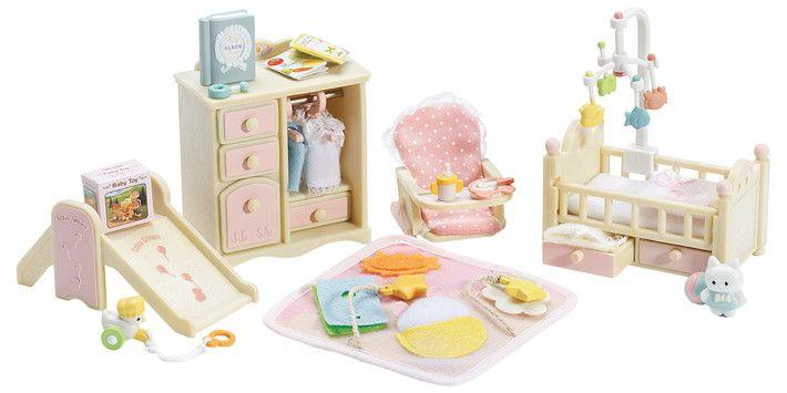 calico critters  baby's nursery set ☆  baby nursery sets