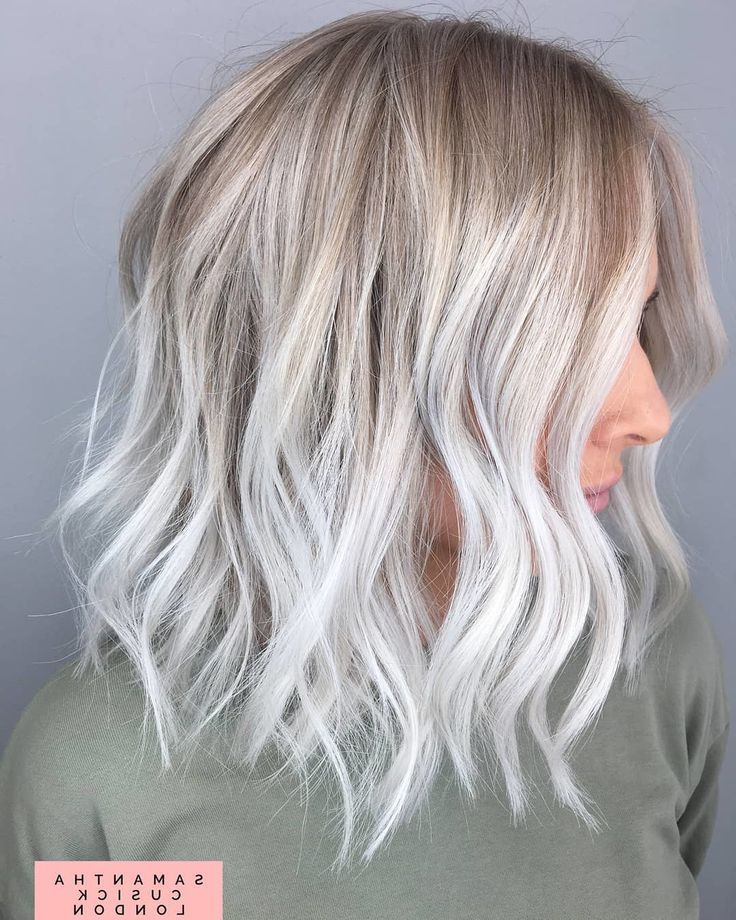 25 Ash Blonde Balayage Hair Color Ideas  #balayage #blonde #color #ideas #ashblondebalayage