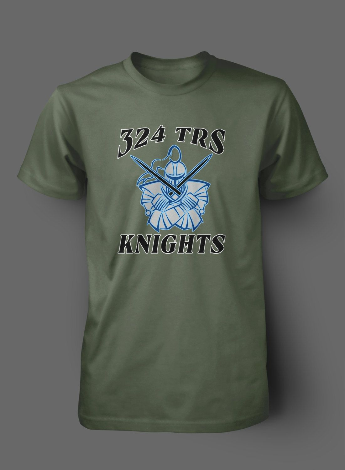 324 TRS Knights Squadron Shirts by WilliamsDigitalStore on