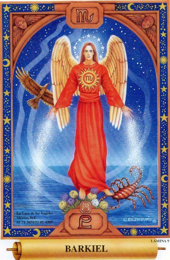 BARKIEL | Archangel prayers, Archangels, Art