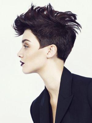 Cut hair hardcore