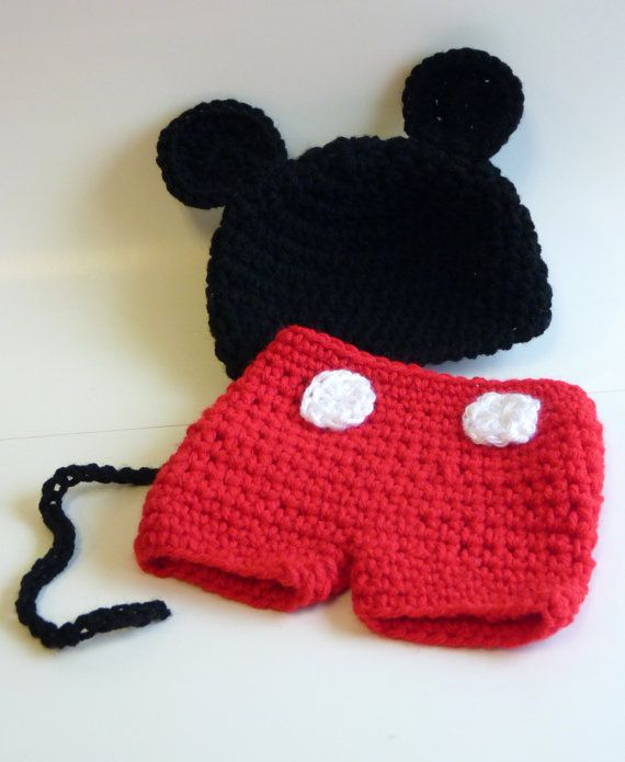 Mickie Mouse Photography Prop  Made to by GoldenGirlzHandmade, $29.99