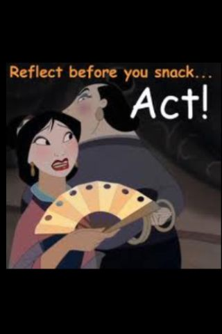 Before You Snack Act Disney Funny Funny Cartoon Characters Mulan