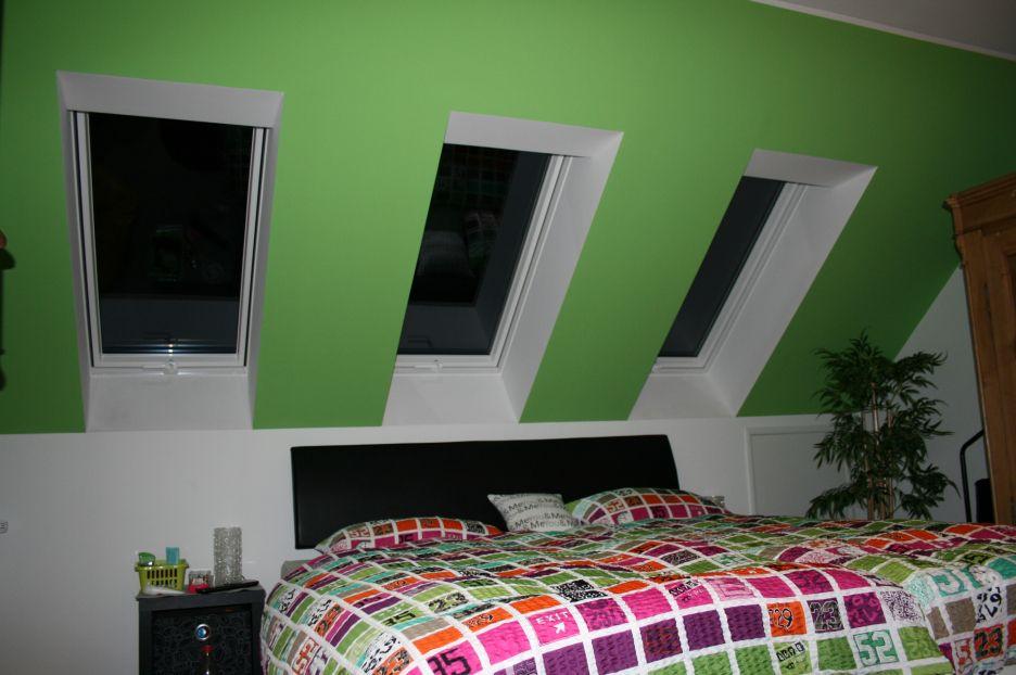 Zimmer Mit Dachschr\\u00e4ge Gestalten Tapete Schlafzimmer