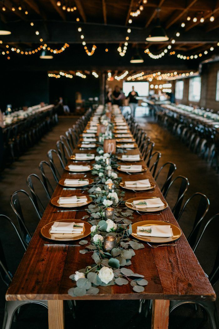 This Elegant Rustic Smoky Hollow Studios Wedding Proves the Beauty is in the Details | Junebug Weddings