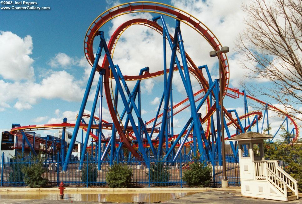 Superman At Six Flags Great Adventure Roller Coaster Six Flags Great Adventure Greatest Adventure