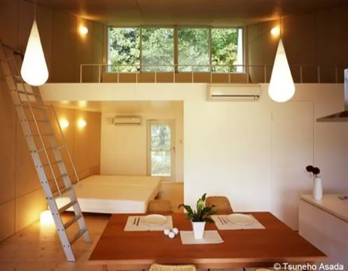 Two small space cottages by toyo ito guest house garage ideas