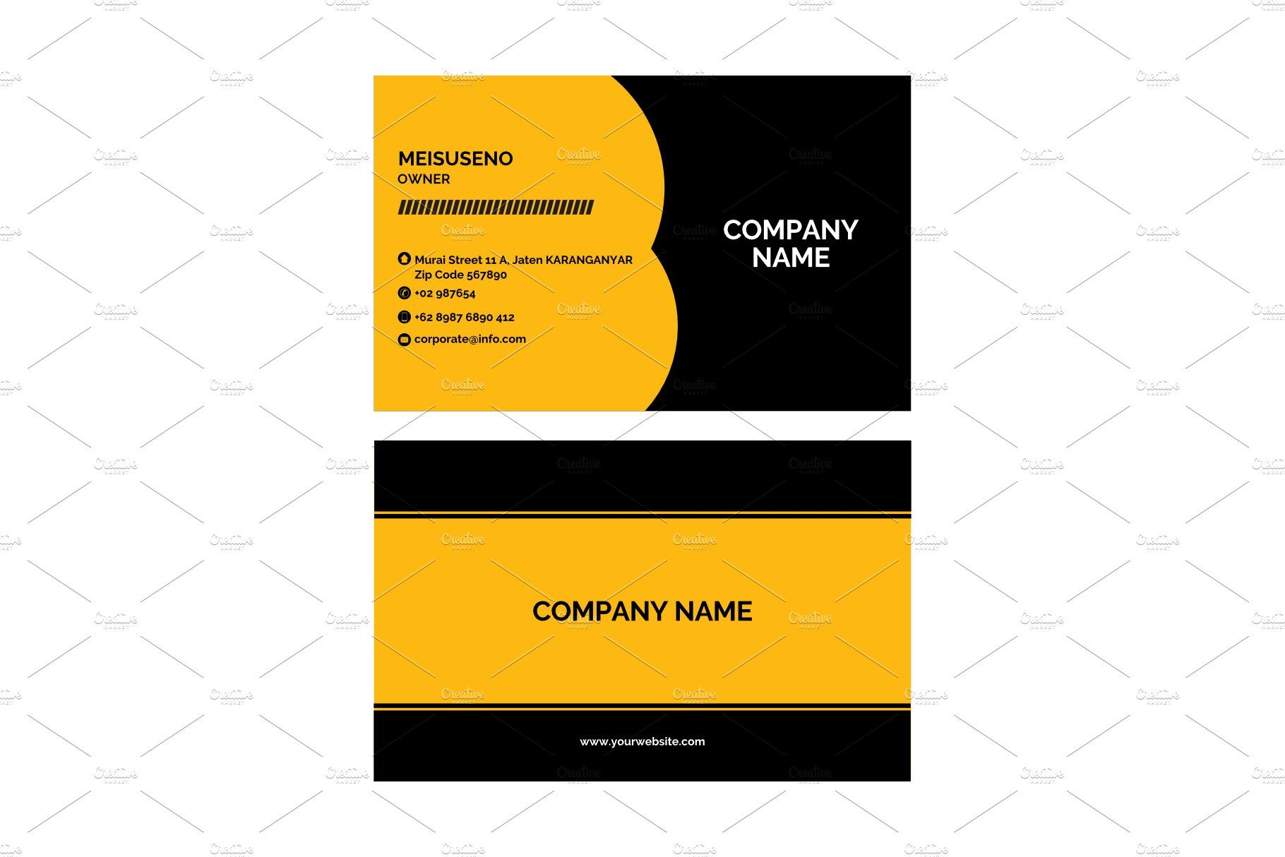 Corporate Business Card In 2020 Corporate Business Card Corporate Business Cool Business Cards