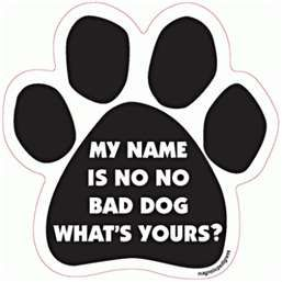 What's your dog's name?