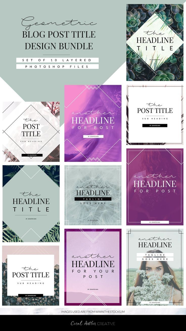 geometric blog template bundle by coral antler creative on  creativemarket  blog  blogger