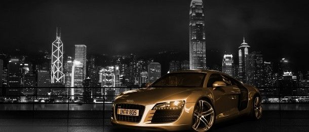 Audi R8 Gold Wallpaper Hd Super Cars Audi Audi R8 Wallpaper
