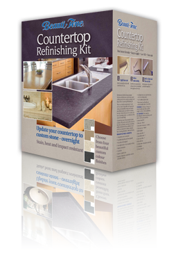 Beauti Tone Countertop Refinishing Kit In Either The Slate Or