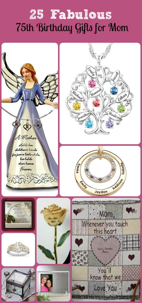 A Great Selection Of 75th Birthday Ideas For Mom