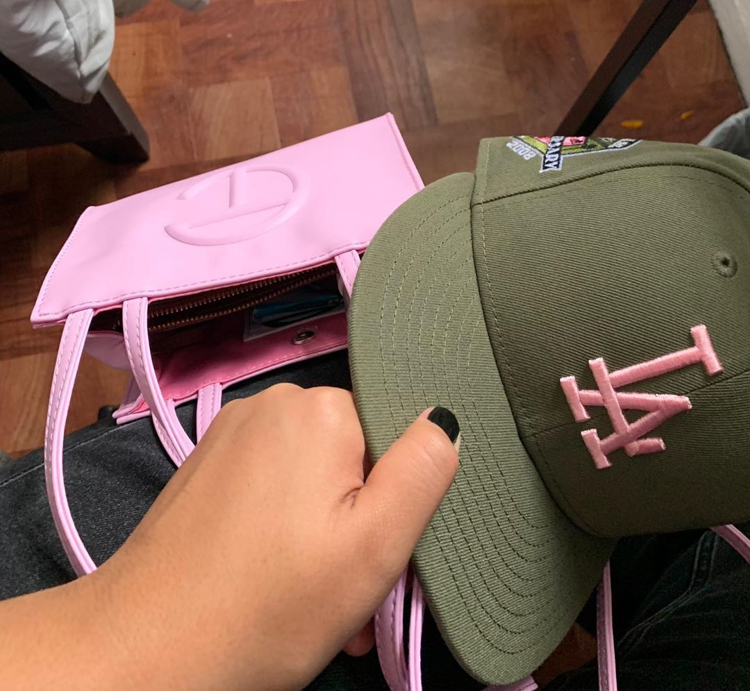 Peerless On Instagram Pink Brim To Match The Pink Bag Fitted Hats Pink Brim Outfit Accessories