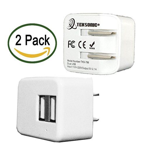 Wall Charger, [2 Pack] tekSonic® Fast 2.1 Amp Universal H... https://www.amazon.com/dp/B01GZR44MQ/ref=cm_sw_r_pi_dp_a7OxxbT5WHZTC