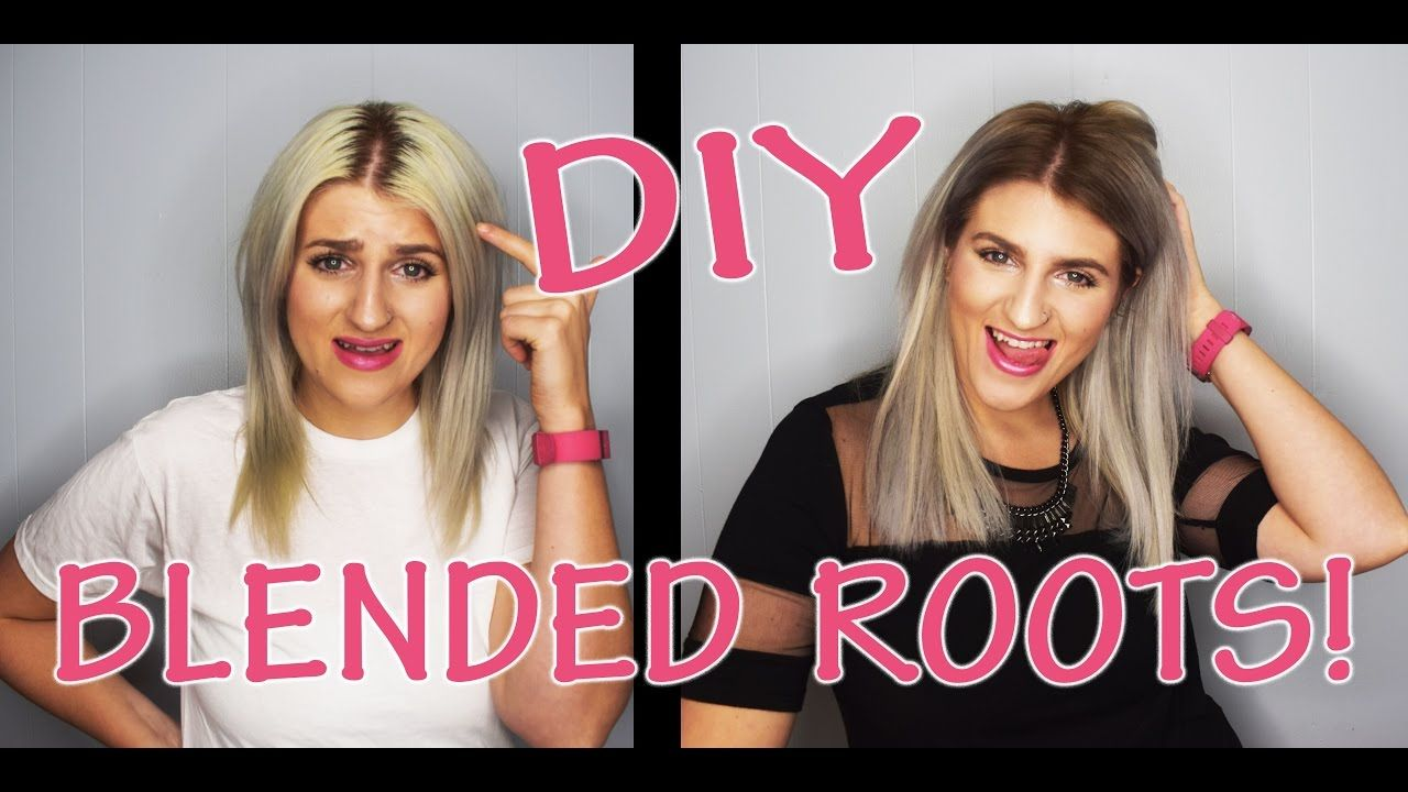 How To Blend Dark Roots At Home Dark Roots Hair Roots Hair