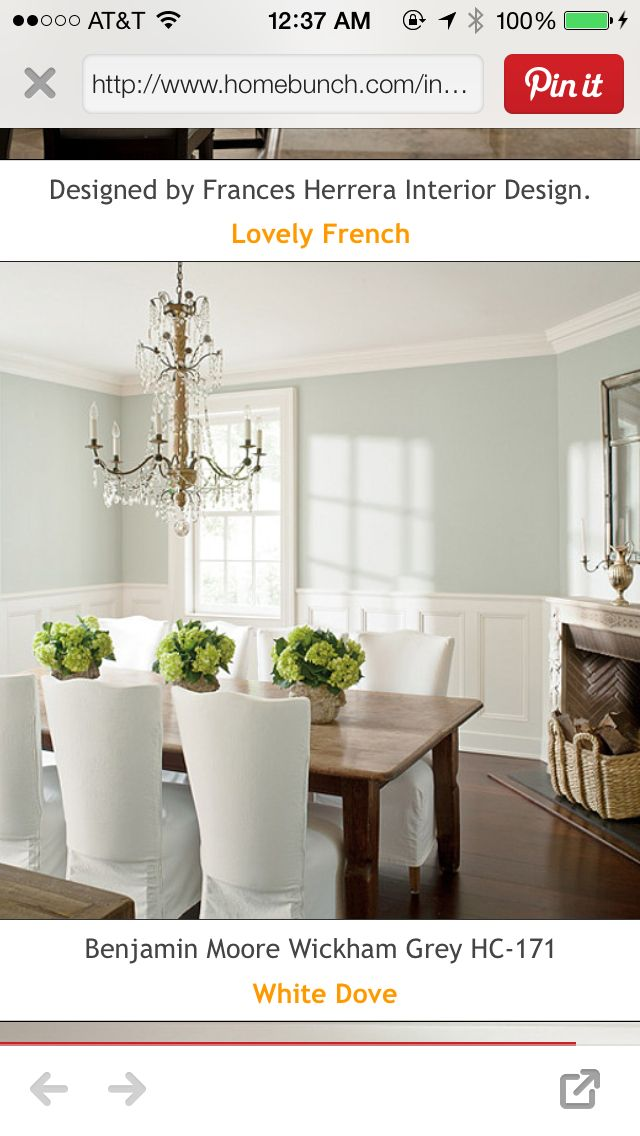 Love this color Decor Dining Rooms Pinterest Room and Kitchens