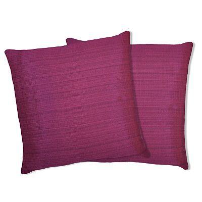 Lush Decor Linen Square 2 Pk Decorative Pillows