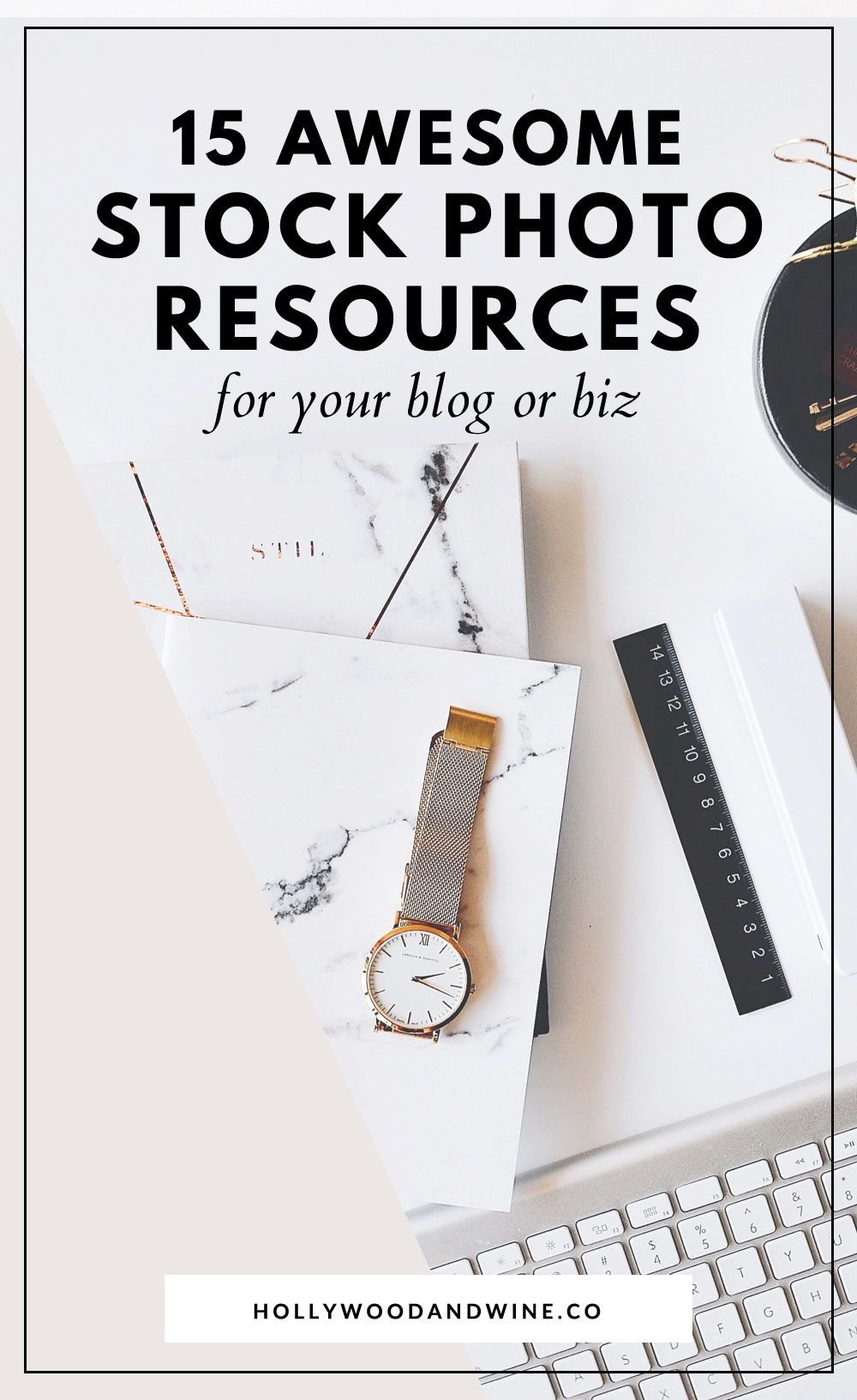 15+ of the best places to get stock photos for your blog! I'm sharing a list of my personal favorite stock photo resources for your blog. All of these sites offer stock photos (free or paid) that are available to use for your blog or biz.