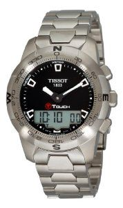 Buy Tissot Men's T0474201105100 T-Touch II Black Digital Multi Function Watch Buy online and save - http://greatcompareshop.com/buy-tissot-mens-t0474201105100-t-touch-ii-black-digital-multi-function-watch-buy-online-and-save