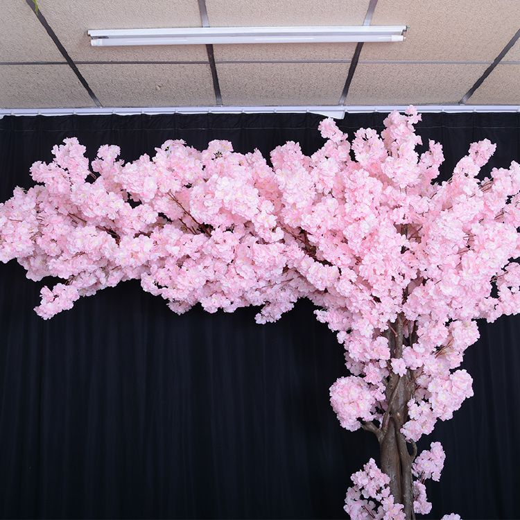 8ft Artificial Cherry Blossom Tree Arch Tree Pink Flowers In 2020 Artificial Cherry Blossom Tree Blossom Trees Cherry Blossom Tree