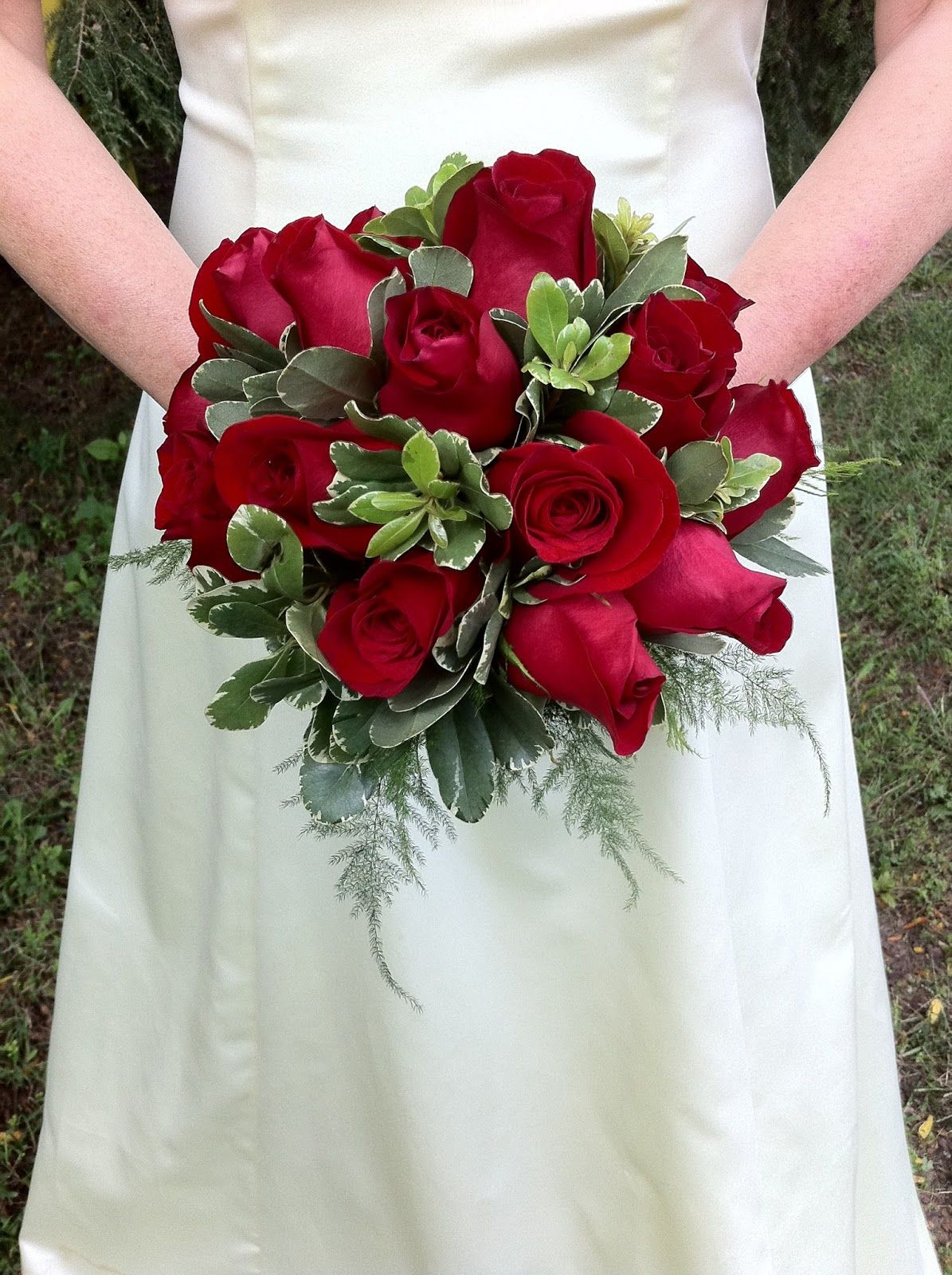 Red Rose Bridal Bouquet Stein Your Florist Co