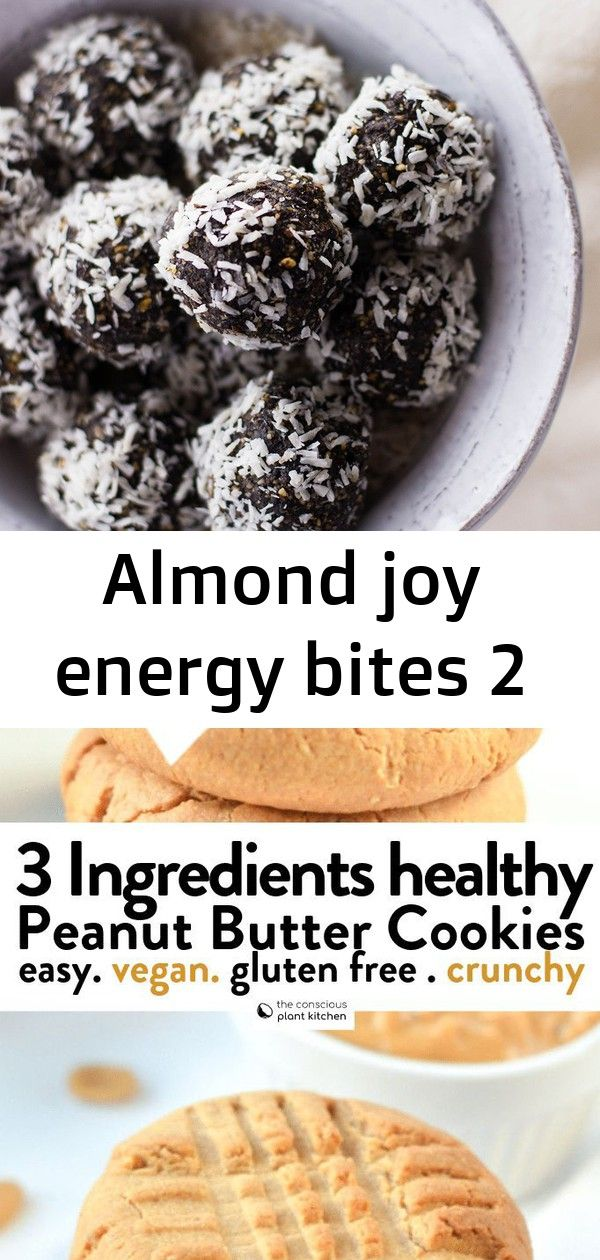 Almond joy energy bites 2 #chocolatepeanutbutterpokecake