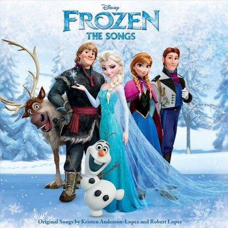 Frozen: The Songs (CD), Music