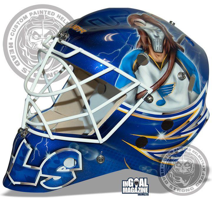 1a8f889b6be Brian Elliott s mask. Gotta love the homage to Casey Jones ...