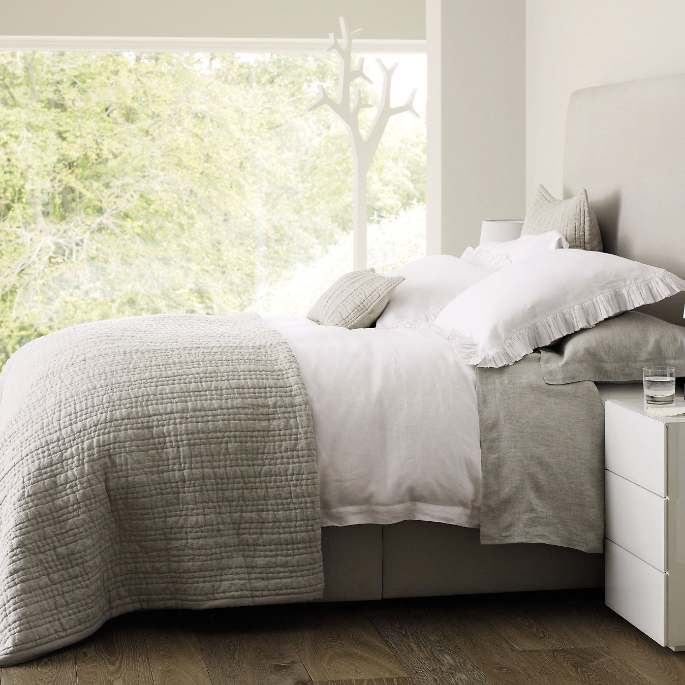 Where does joanna gaines buy her bedding - Buy Bedroom Bedspreads Cushions Oslo Bedspread From The White Company
