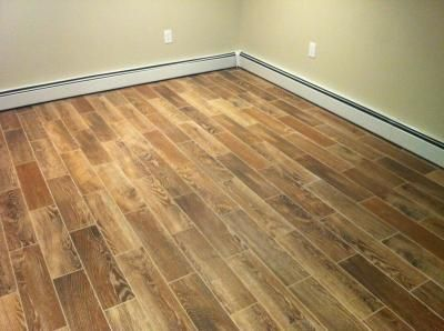 Natural Timber Cinnamon Glazed Porcelain Floor Tile