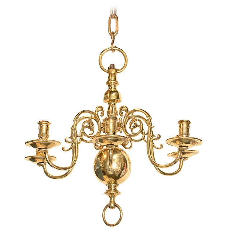 1 Antique Brass Chandelier, Dutch, Copper, Crowns, Dutch People, Dutch  Language - Pin By زوبعة في فنجان On اضواء Pinterest Antique Chandelier