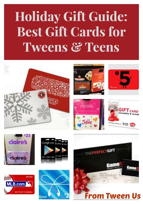 Christmas 2014 · #Holiday #Gift Guide: Best Gift Cards For Tweens U0026 Teens