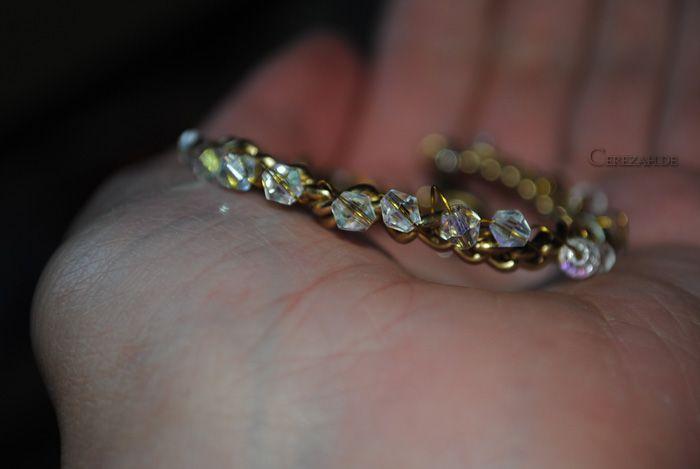 DIY - Cerezah«: Armband mit Draht umwickelt + Perlen   ~ My own DIYs ...