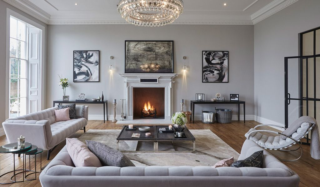 Beauty In The Uk Living Room Grey Contemporary Living Room