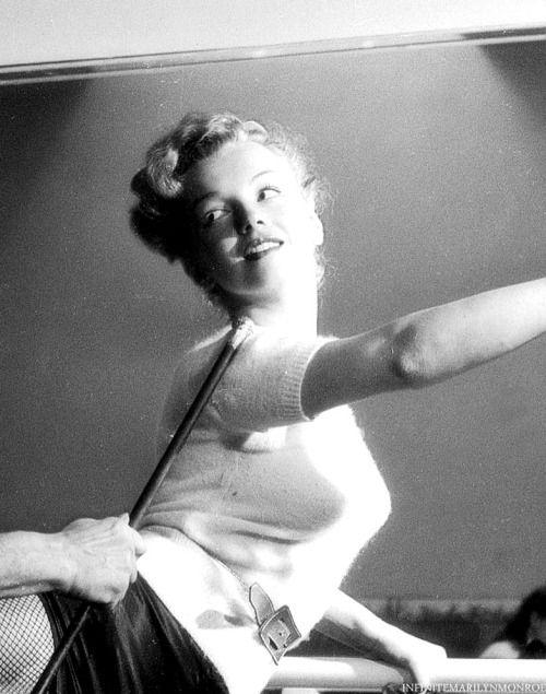 Marilyn Monroe photographed by J.R. Eyerman.