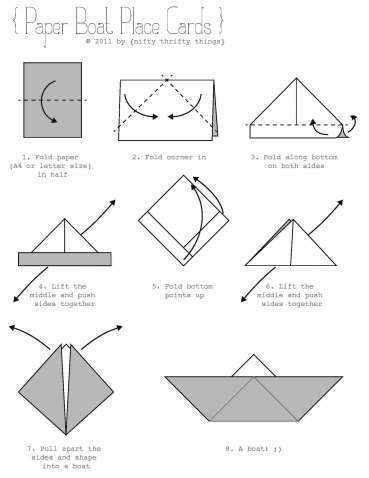 Origami Boat Outline . Unique origami Boat Outline . Paper