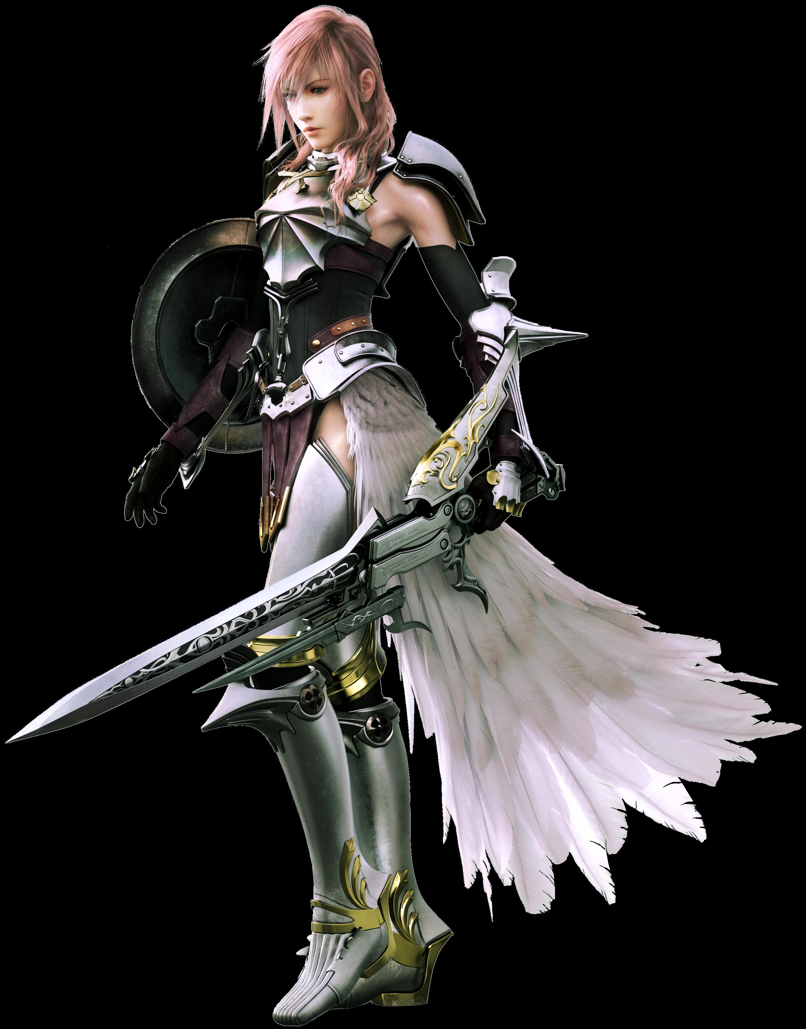 Lightning Final Fantasy 13 Side Boob