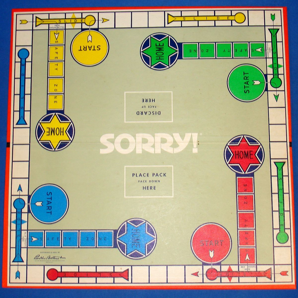 7 Best Images Of Printable Sorry Board Game Pieces Printable