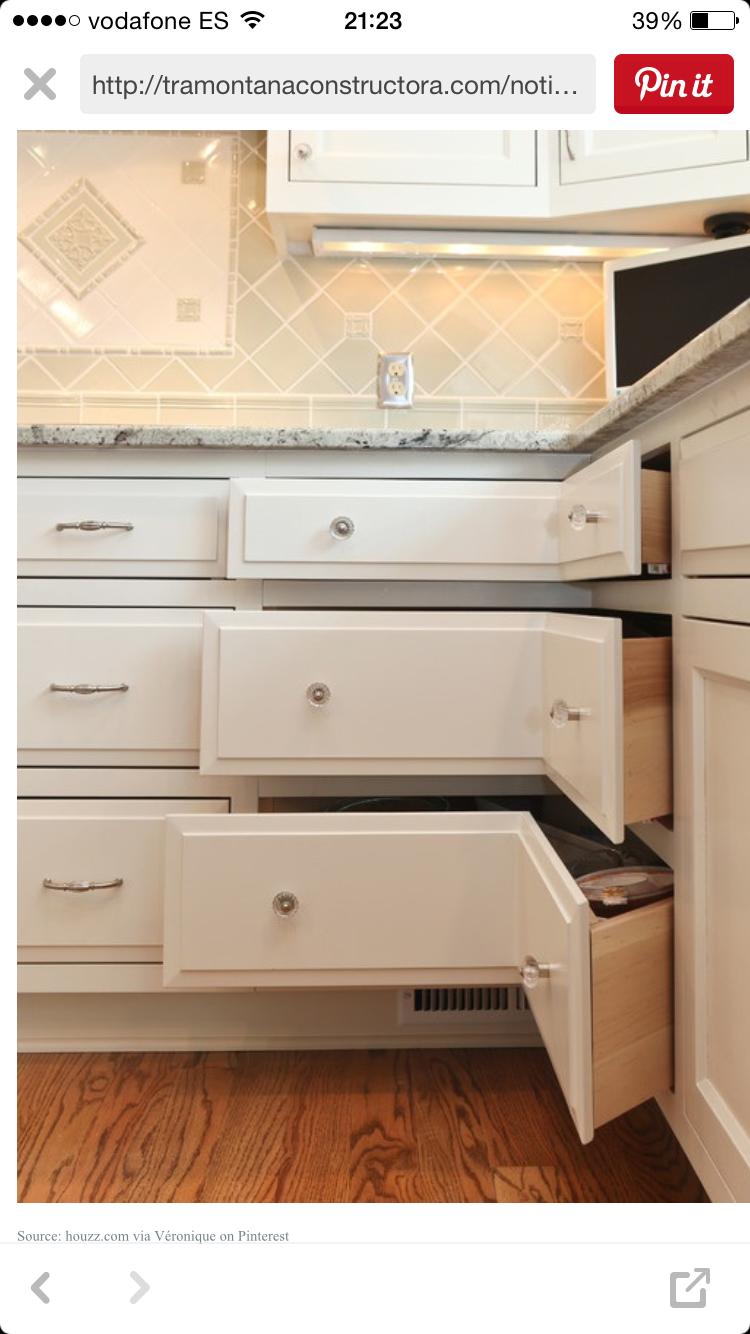Esquineras kitchen designs pinterest kitchens kitchen drawers