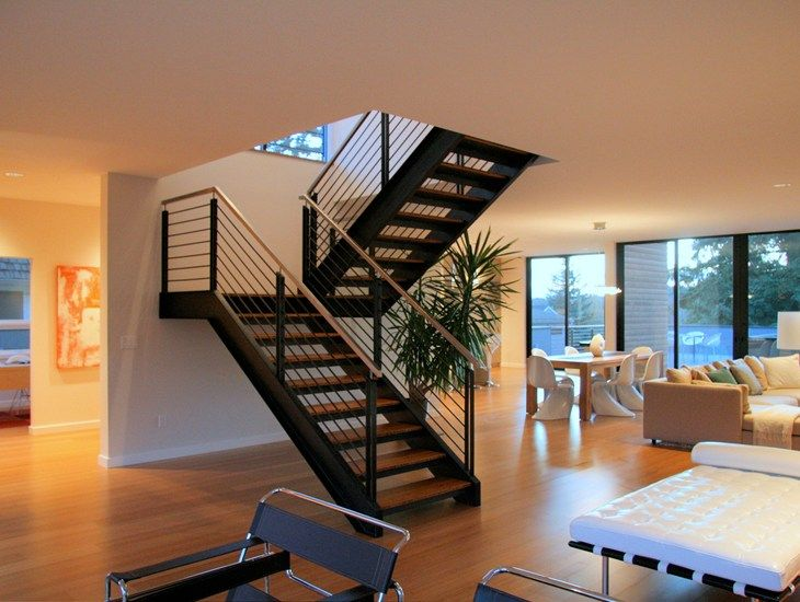 Best A Simple Staircase Design Modern Staircase 400 x 300
