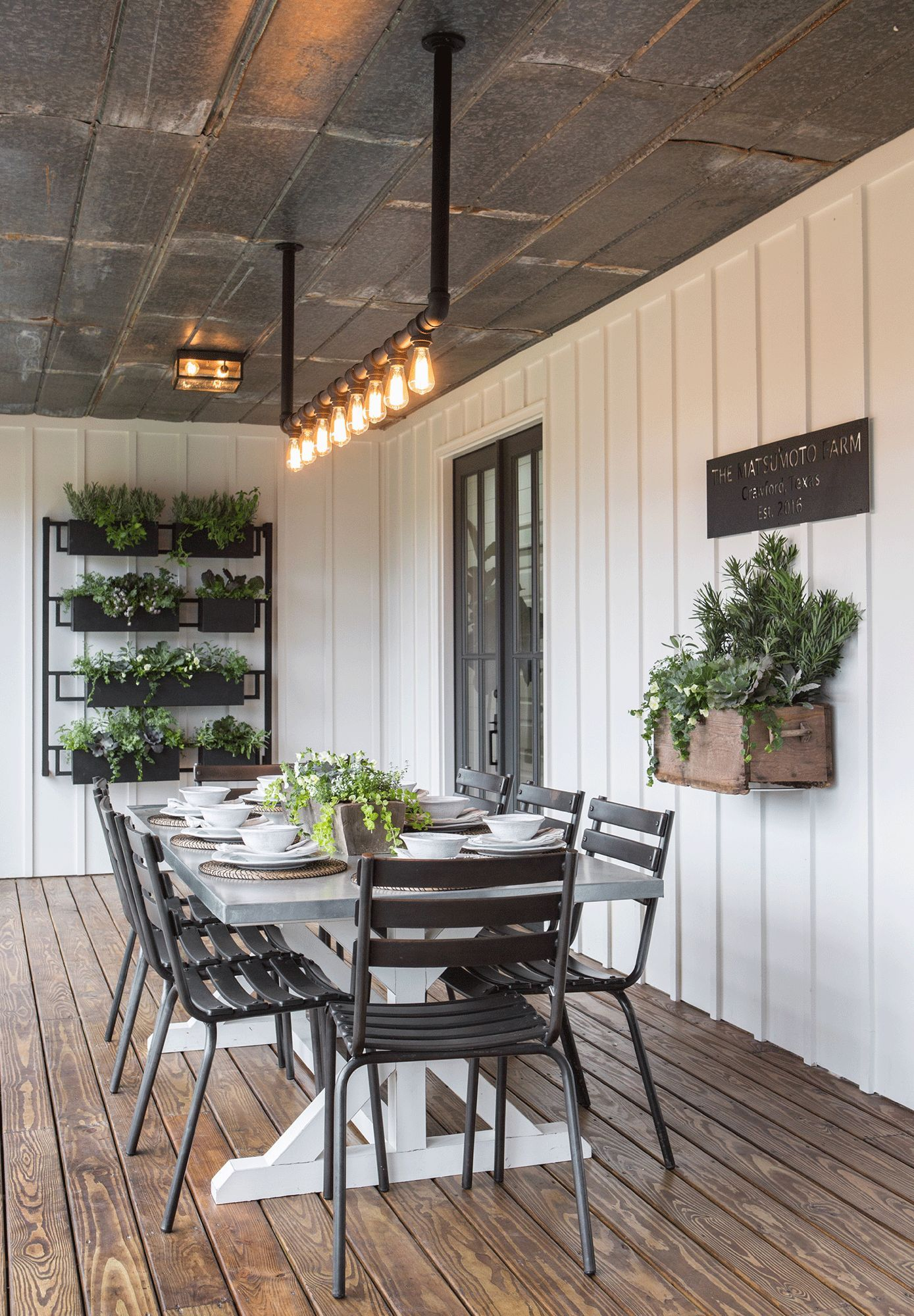 Fixer Upper Back Covered Porch Industrial Farmhouse Tags Breakfast Nook Ideas For Small Kitchen Plans Ikea