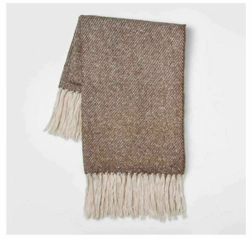 60 Quot X 50 Quot Faux Mohair Twill Throw Blanket Threshold Sale