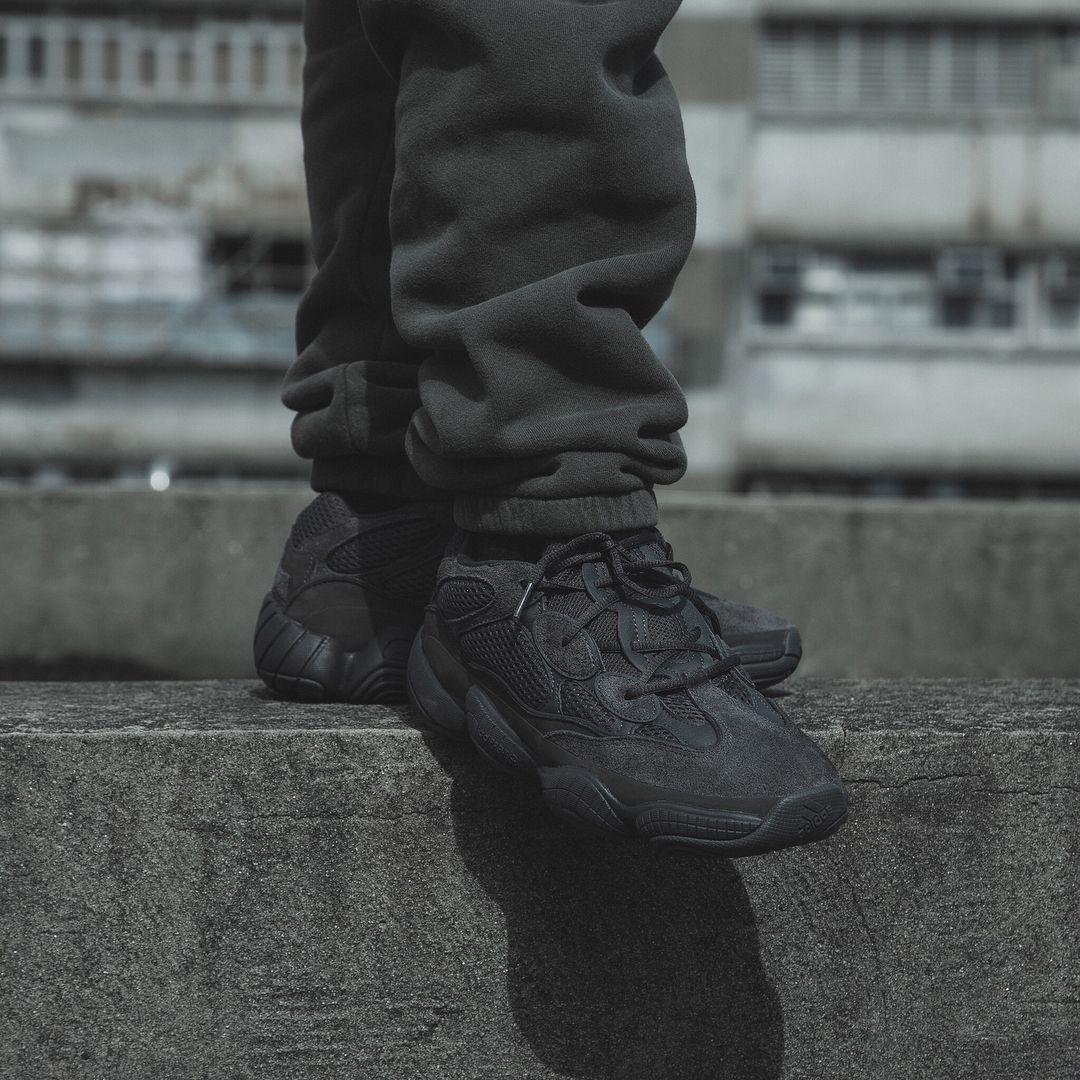 sale retailer cc037 439e7 adidas YEEZY 500 Utility Black - Sneakers - SportStylist ...