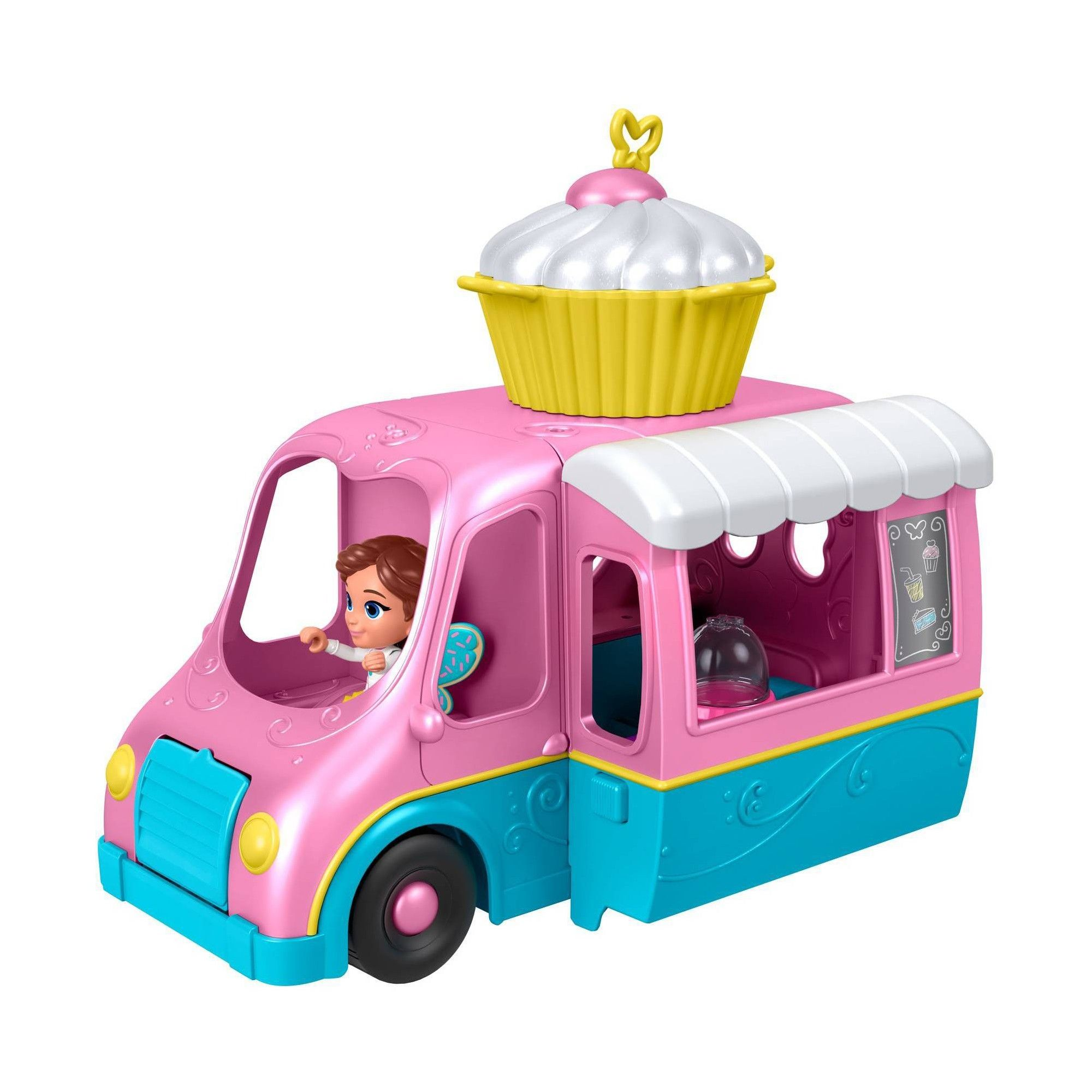 Fisher-Price Butterbean/'s Cafe Butterbean/'s Cupcake Cart