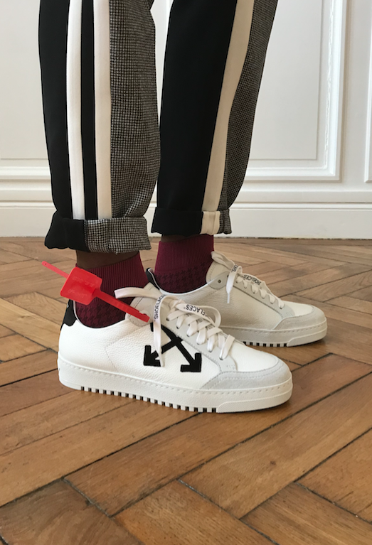 o Virgil Abloh iconic arrows sneakers