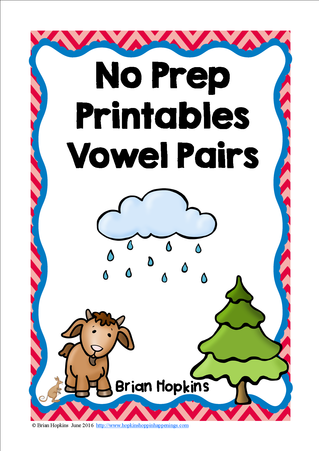 Vowel Pairs No Prep Printables With Images