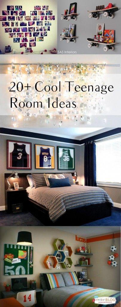 20+ Cool Teenage Room Decor Ideas Garden + Home Pinterest